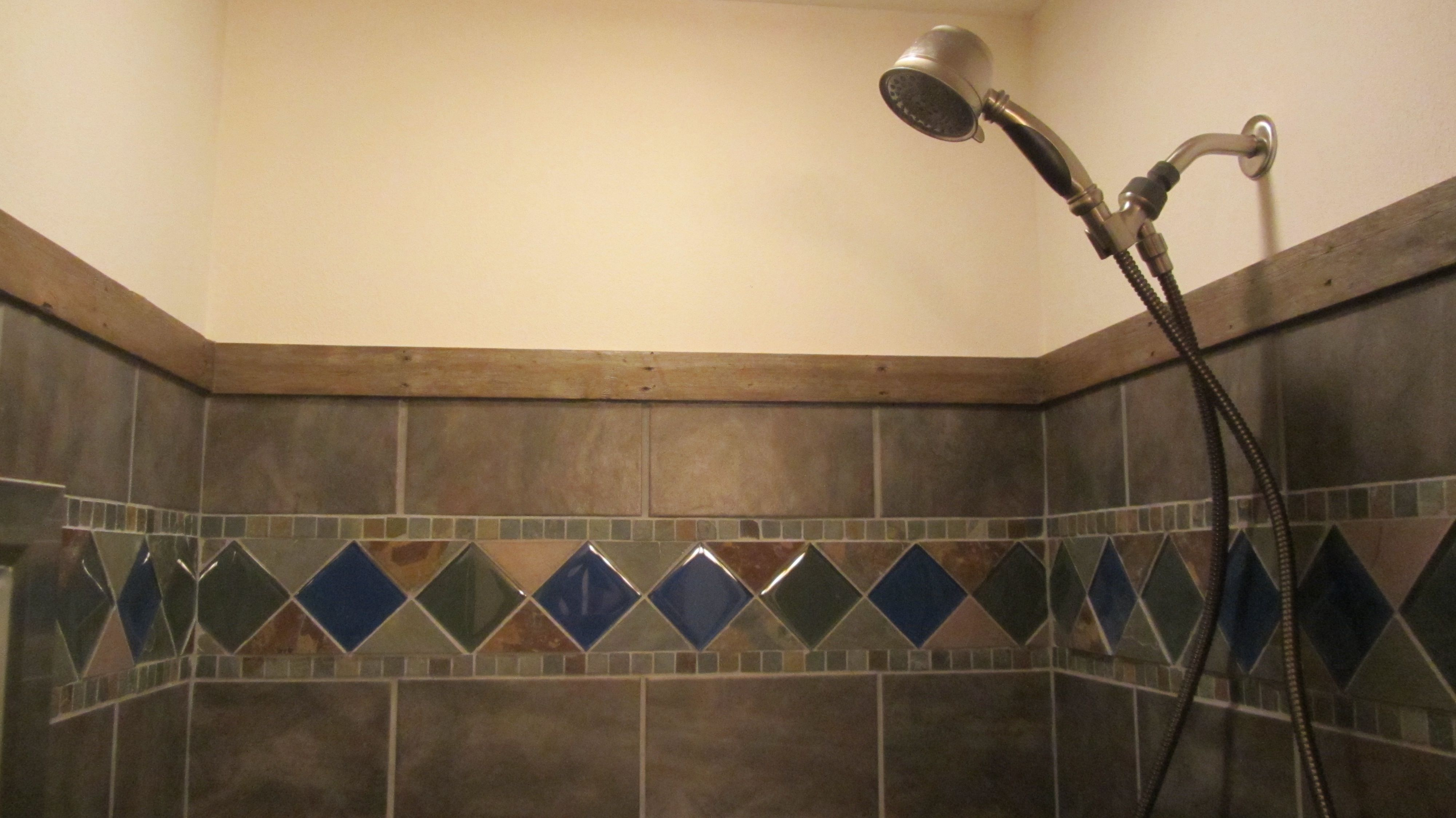 DIY Shower Tile | Anna Burrows Mission Memos