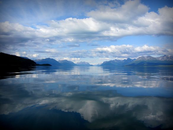 Lake Clark Reflection