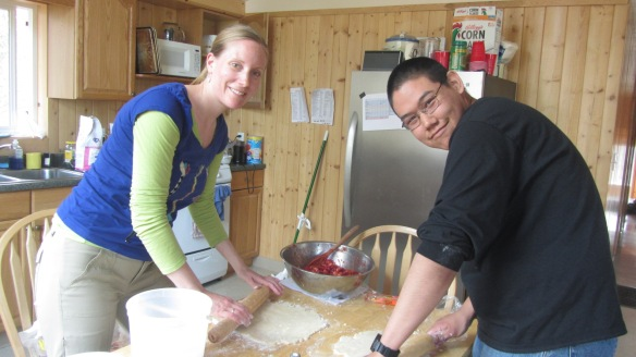 Pie Making with Victor