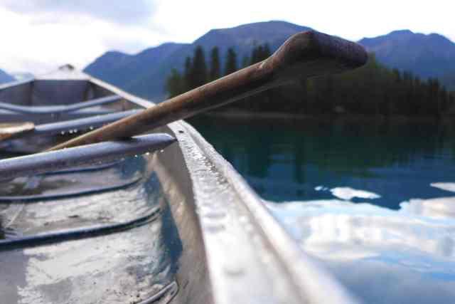 Canoeing Kontrash